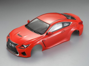 KILLERBODY LEXUS RC F 195MM FINISHED BODY - ORANGE