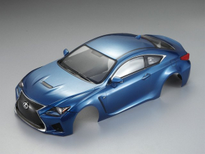 KILLERBODY LEXUS RC F 195MM FINISHED BODY - MET BLUE