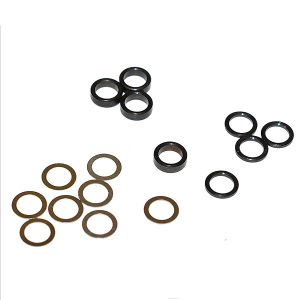 MIP 5mm STEEL SPACER KIT,.25mm , 1.0mm & 2.3mm