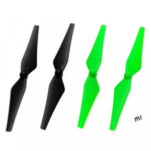 NINE EAGLES GALAXY VISITOR 6 GREEN AND BLACK BLADE/PROP SET
