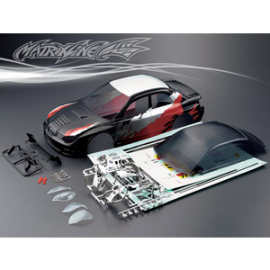 MATRIXLINE WRC PRINTED BODY 190mm w/ACCESSORIES
