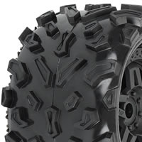 Pro-Line 'Big Joe' 40 Series Mounted On Tech 5 Black Wheels