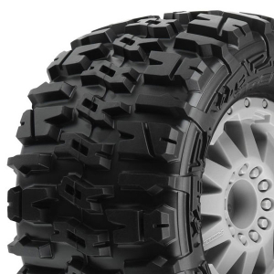 PROLINE TRENCHER 2.8 ALL TER. TYRES - GREY F11 WHEELS STAMP.