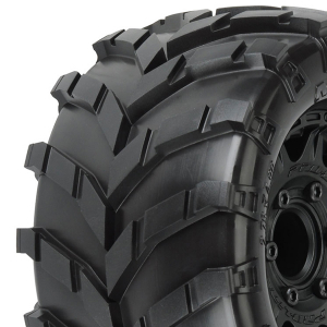 PROLINE MASHER 2.8 ALL TER. TYRES ON RAID 6x30 BLK WHEELS