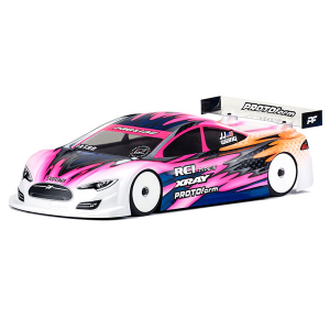 PROTOFORM TYPE-S LIGHTWEIGHT BODYSHELL 190MM (CLEAR)