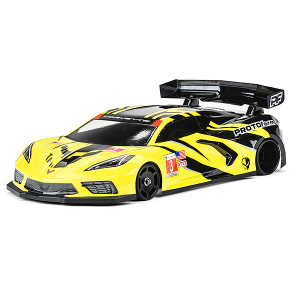 PROTOFORM CHEVROLET CORVETTE C8 CLEAR BODY FOR GT12