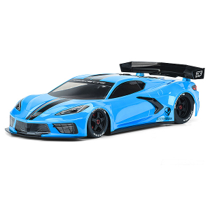 PROTOFORM CHEVROLET CORVETTE C8 CLEAR BODY FOR FELONY/INFRA