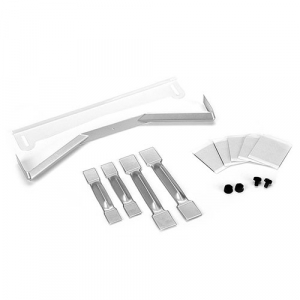 PROTOFORM 1:8 ONROAD AERO KIT WITH SPOILERS & STIFFENERS