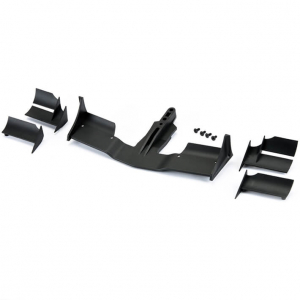 PROTOFORM V2 F1 FRONT WING (BLACK) FOR 1/10TH F1 CAR