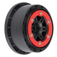 Pro-Line 'Split Six' Sc Red/ Black Slash Rr/Slash 4X4
