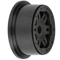 Pro-Line 'Split Six' Front Wheel For Baja 5T Black/Black