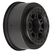 Pro-Line 'Split Six' Black One- Piece Front Wheels For Slash