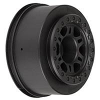 Pro-Line 'Split Six' Black One- Piece Rear Wheels For Slash