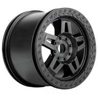 Pro-Line 'Tech 5' 40 Series Black Wheels Zero Offset 17mm