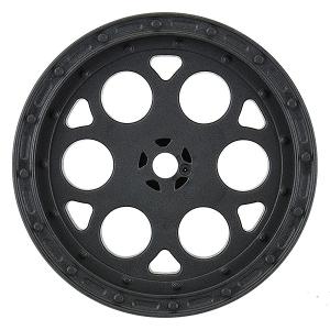 PROLINE SHOWTIME SPRINT CAR 2.2 HEX BLACK REAR WHEELS