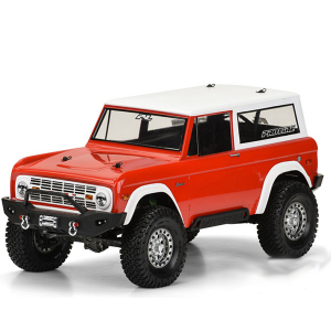 Pro-Line 1973 Ford Bronco Bodyshell For 1/10 Crawlers