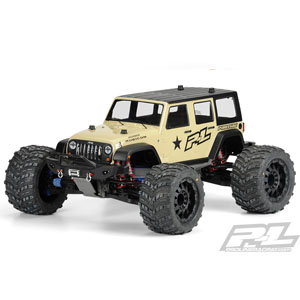 PROLINE JEEP WRANGLER RUBICON UNLIMITED CLEAR BODY FOR MT