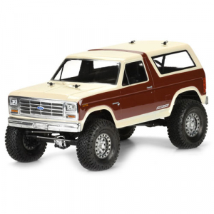PRO-LINE 1981 FORD BRONCO CLEAR BODY 313MM W/B SCALE CRAWLER