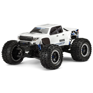 PROLINE PRE CUT BRUTE BASH ARMOUR BODY (WHITE) FOR X-MAXX