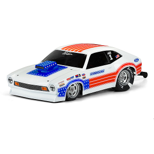 PROLINE 1972 FORD PINTO CLEAR DRAG BODY FOR 11.25