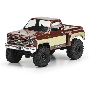 PROLINE 1978 CHEVY K-10 CLEAR BODY FOR SCX24
