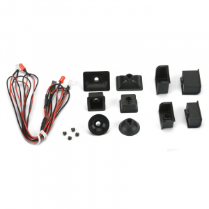 PROLINE UNIVERSAL LED HEAD LIGHT & TAIL LIGHT KIT CRAWLER