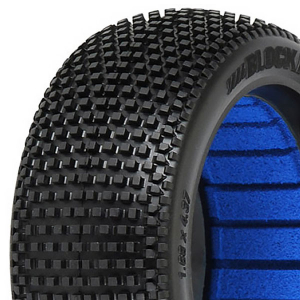 PROLINE 'BLOCKADE' S2 MEDIUM 1/8 BUGGY TYRES W/CLOSED CELL