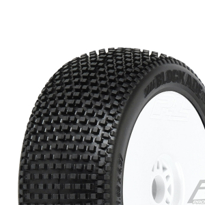 PROLINE 'BLOCKADE' S4 PREMOUNT VELOCITY V2 WHITE WHEELS (2)
