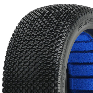 PROLINE 'SLIDE LOCK' M4 MED 1/8 BUGGY TYRES W/CLOSED CELL