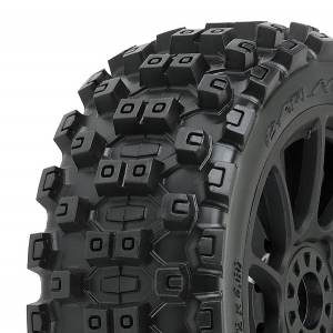 PROLINE 'BADLANDS MX' M2 PRE- MOUNT MACH 10 BLACK WHEELS PR