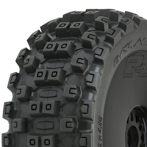 PROLINE 'BADLANDS MX' M2 PRE- MOUNT VELOCITY BLACK WHEELS PR