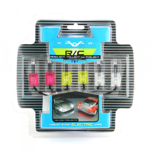 RC Neon Head/Brake & Yellow Fog Light Kit Electric
