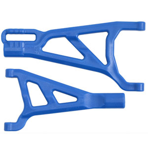 RPM TRAXXAS SUMMIT/REVO FRONT LEFT A-ARMS BLUE