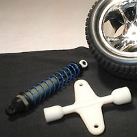 Rpm Wheel And Shock Nut Wrench For Associated Cars