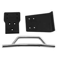 RPM Front Bumper & Skid Plate For Traxxas Slash 4X4 - Chrome