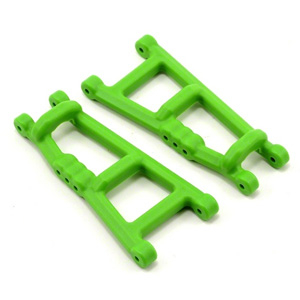 RPM GREEN REAR A-ARMS FOR TRAXXAS ELECTRIC STAMPEDE OR RUSTLER