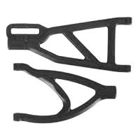 RPM Revo Rear A-Arms Black (1 Upper/1 Lower)