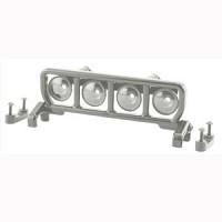 RPM Narrow Roof Mounted Light Bar Set - Chrome