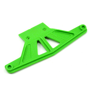 RPM WIDE FRONT BUMPER FOR TRAXXAS RUST/STAMPEDE - GREEN