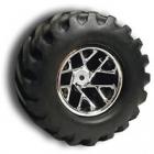 RPM Maxx Monster Clawz Wheels - Pair - Chrome
