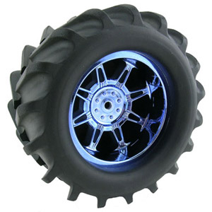 RPM Standard Width Maxx 'Monster Spider' Wheels (2) - Blue Chrome
