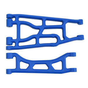 RPM TRAXXAS X-MAXX UPPER & LOWER A-ARM BLUE