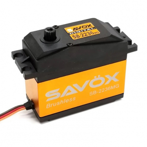 SAVOX HV DIGITAL BRUSHLESS SERVO 40KG/0.13s@7.4V 1/5