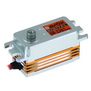 SAVOX CNC LOW PROFILE B/LESS DIGITAL SERVO 10KG/0.076s@6.0V