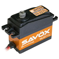 SAVOX HV DIGITAL BRUSHLESS SERVO 20KG/0.065s@7.4V