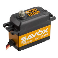 Savox 'High Voltage' Std Size Ultra Fast Servo 16Kg@7.4V
