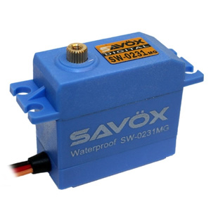 SAVOX WATERPROOF DIGITAL SERVO 15KG/0.17s@6V