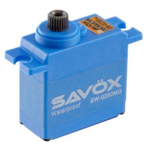 SAVOX WATERPROOF DIGITAL MICRO SERVO 5KG/0.11s@6V