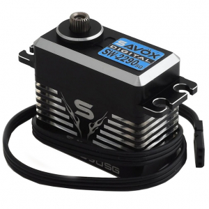 SAVOX HV CNC MONSTER BRUSHLESS SERVO 55KG/0.13s@7.4V W/PROOF