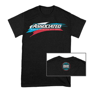 ASSOCIATED WC19 T-SHIRT BLACK (LARGE)